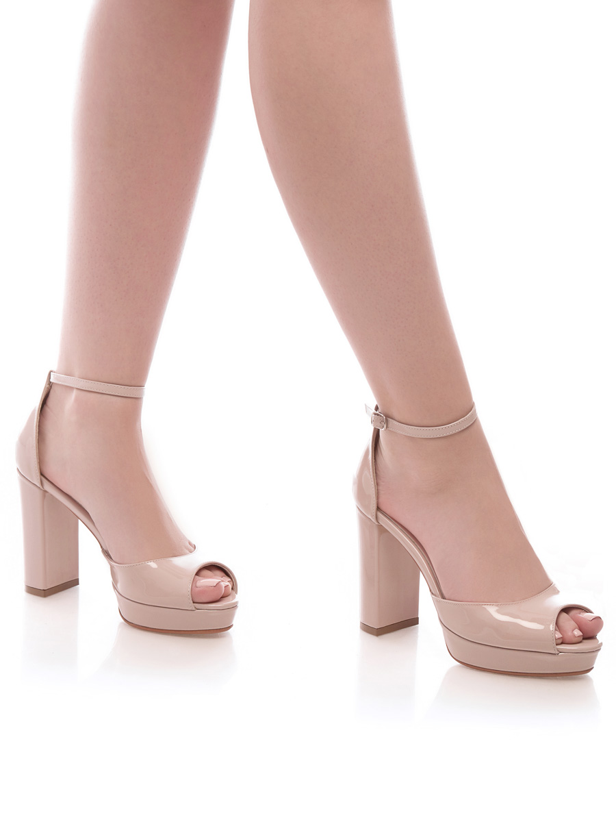 996bb510ff3837 Sandale Nude mireasa 2018 nunta la comanda piele GEMELLI naturala elegante  nasa Constanta Romania Pantofi la
