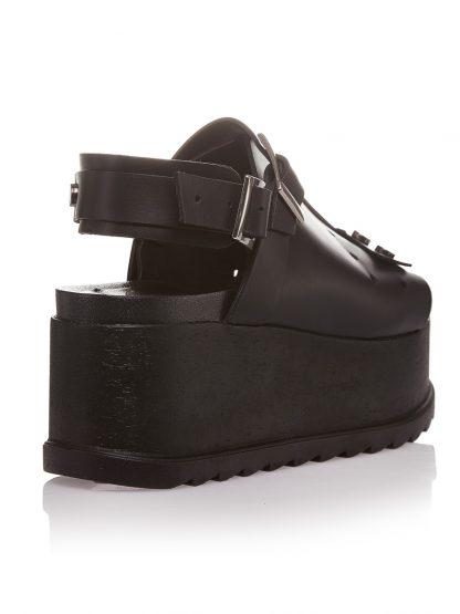Pantofi la comanda orice culoare Configureaza-ti noua pereche Wedges Negri Piele Naturala Colectia Gemelli Shoes Vara 2018 Constanta Romania