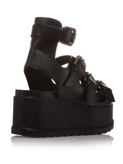 Pantofi la comanda orice culoare Configureaza-ti noua pereche Wedges Fashion Piele Naturala Catarame Colectia Gemelli Shoes Vara Constanta