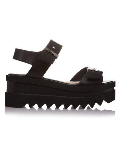 Pantofi la comanda orice culoare Configureaza-ti noua pereche Wedges Negri Piele Naturala Comanda Colectia Gemelli Shoes Vara 2018 Constanta