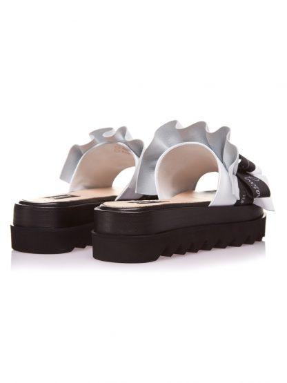 Sandale la comanda lucrate manual din piele naturala disponibili pe orice culoare Sanda Vara Piele Naturala GEMELLI SANDALE Amazing Fashion Albe