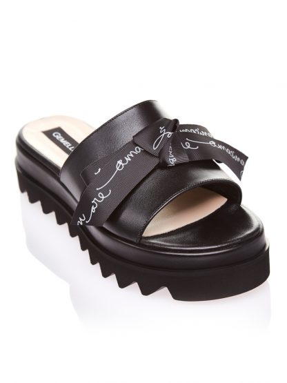 Sandale la comanda lucrate manual din piele naturala disponibili pe orice culoare Sanda Vara Piele Naturala GEMELLI SANDALE Amazing Fashion Negre
