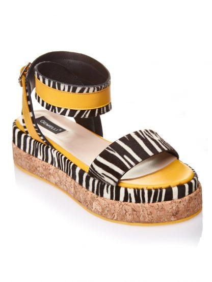Pantofi la comanda orice culoare Configureaza-ti noua pereche Zebra Print Piele Naturala Fashion Comanda Gemelli Shoes Vara Catarama Cluj