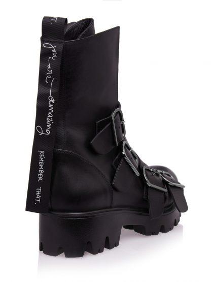Configureaza-ti noua pereche de Ghete Gemelli. Descopera colectia Fashion de Ghete Negre Piele Naturala GEMELLI Amazing Fall Toamna Dama