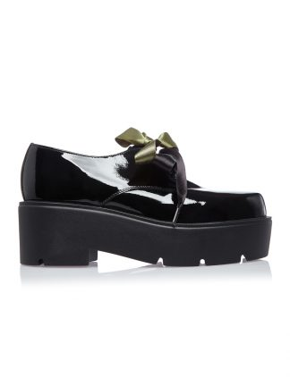 OXFORD Negru Piele Lacuita Pantofi GEMELLI Shoes Comanda Online 2019 DAMA Piele Naturala Comanda Online dintr-o gama variata de modele Configureaza-ti noua pereche