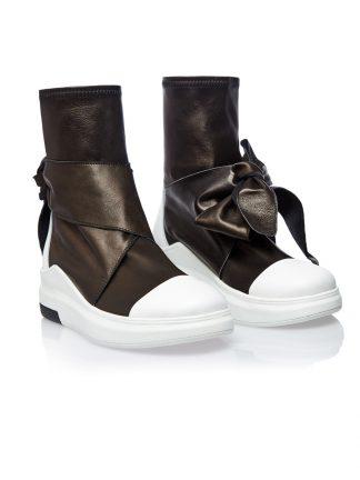 Gheata Piele Naturala Sport Talpa Alba GEMELLI SHOES Constanta casual Romania Pantofi la comanda lucrati manual din piele naturala