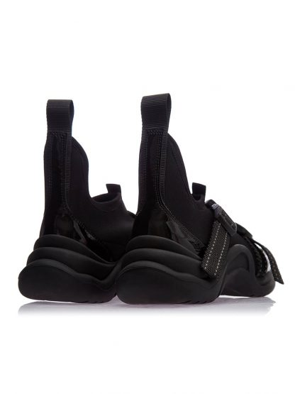Convers Negru Piele Naturala GEMELLI Dama Comanda Online SPORT casual Shoes Constanta Romania Pantofi la comanda lucrati manual din Piele Naturala disponibili pe orice masura