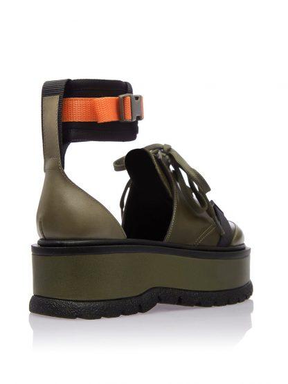 Convers Kaki Primavara GEMELLI Pantofi Dama Comanda Online SPORT casual Shoes Constanta Romania Pantofi la comanda lucrati manual din Piele Naturala disponibili pe orice masura