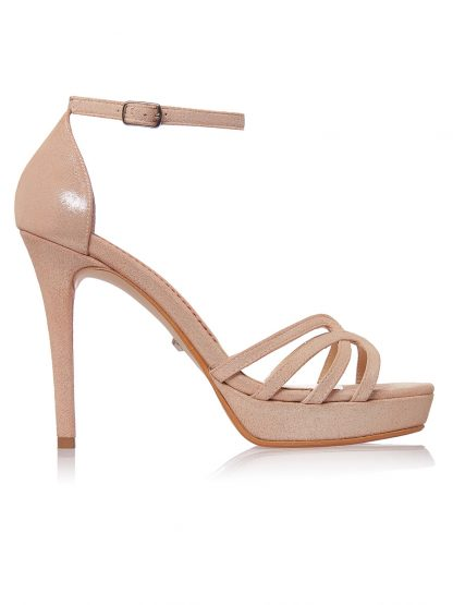 Sandale Elegante Toc Inalt Piele Naturala Antilopa GEMELLI Shoes | Comanda Pantofi la comanda lucrati manual din piele naturala de calitate.