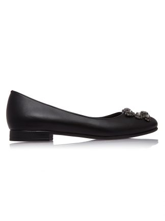 Cauti Balerini de Dama din Piele Naturala Colectia Primavara Vara? Comanda Balerini Dama Negri Piele Naturala GEMELLI Shoes Comanda Online