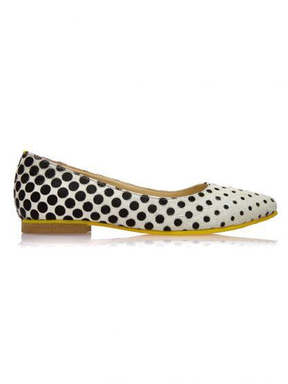 Cauti Balerini de Dama din Piele Naturala Colectia Primavara Vara? Comanda Balerini Piele Naturala Ponei GEMELLI Shoes Romania Comanda Online
