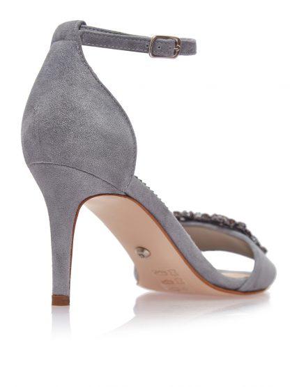 Sandale Bleu Antilopa Elegante Ocazie Piele Naturala GEMELLI Shoes | Pantofi la comanda lucrati manual din piele naturala de calitate.