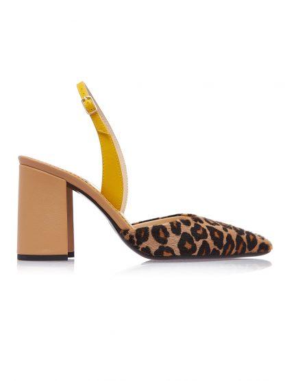 Sanda Animal Print Toc Patrat Piele Naturala GEMELLI Shoes Romania Pantofi la comanda lucrati manual din piele naturala disponibili pe orice culoare