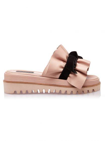 Sandale la comanda lucrate manual din piele naturala disponibili pe orice culoare Sanda Nude Vara Piele Naturala GEMELLI SANDALE Joase Fashion