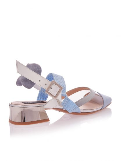 Sandale Elegante Toc Mic Comod Piele Naturala GEMELLI Shoes Romania Comanda Online Pantofi la comanda lucrati manual din piele naturala