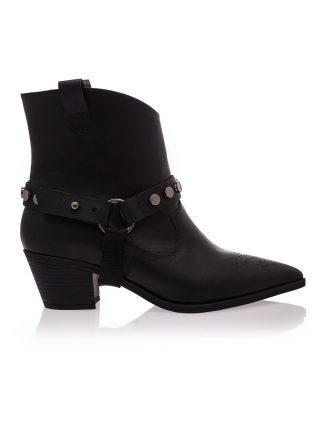 Gheata Casual Neagra Piele Naturala GEMELLI SHOES 2019 Comanda dama Constanta Romania Pantofi la comanda lucrati manual din piele naturala