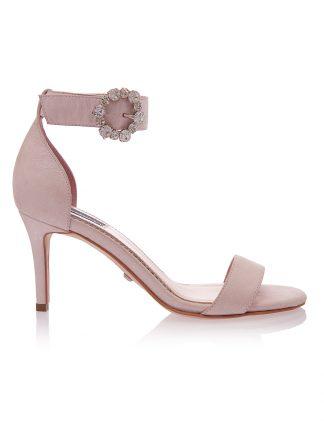 Sandale Roz Elegante Ocazie Piele Intoarsa Naturala GEMELLI Shoes | Pantofi la comanda lucrati manual din piele naturala de calitate.