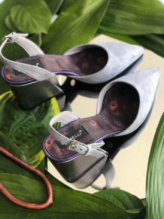 Sandale Lila Piele Naturala de Vara Elegante GEMELLI Shoes Online Pantofi la comanda lucrati manual din piele naturala orice masura