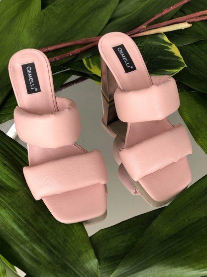 Sandale Roz Piele Naturala de Vara Elegante GEMELLI Shoes Online Pantofi la comanda lucrati manual din piele naturala orice masura