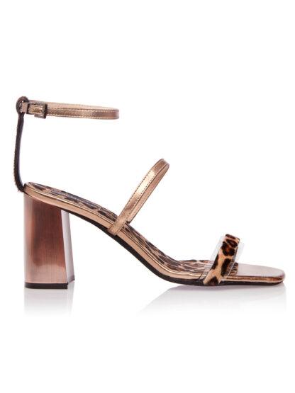 Sandale de Seara Animal Print Piele naturala GEMELLI SHOES Comanda Online Pantofi la comanda lucrati manual din piele naturala orice masura