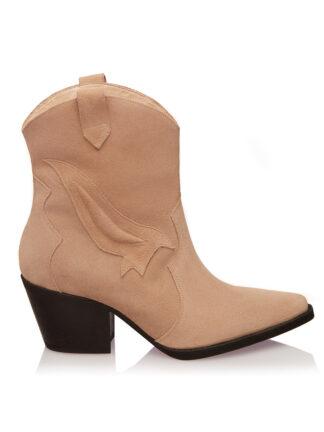 Ciocate Beige Fashion Piele Intoarsa GEMELLI SHOES Constanta Romania Pantofi la comanda lucrati manual cu maiestrie din piele naturala