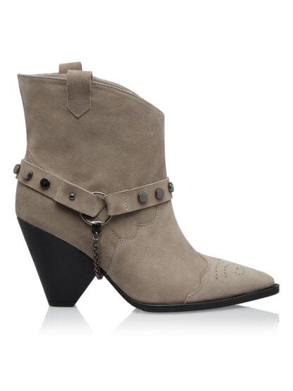 Ciocate Grej Fashion Piele Intoarsa GEMELLI SHOES Constanta Romania Pantofi la comanda lucrati manual cu maiestrie din piele naturala