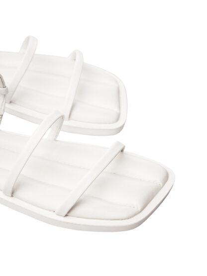 Sandale Albe de Vara Elegante Piele Naturala Primavara GEMELLI Comanda Online sport casual lucrati manual disponibili pe orice culoare