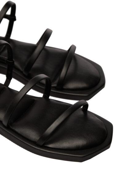 Sandale Negre de Vara Elegante Piele Naturala Primavara GEMELLI Comanda Online sport casual lucrati manual disponibili pe orice culoare